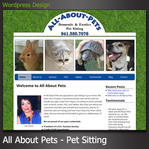 All About Pets Sitting North Port FL